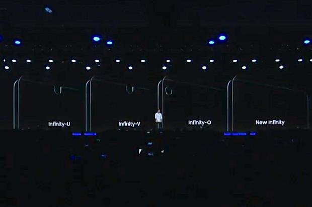 三星公布三种Infinity异形屏设计