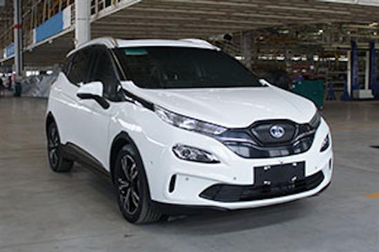 续航超500km 北汽新能源EX3于广州车展首发
