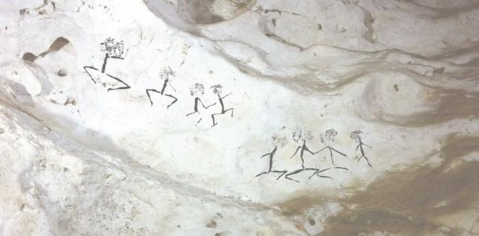 印尼发现最古老洞穴壁画 可追溯至4万年前