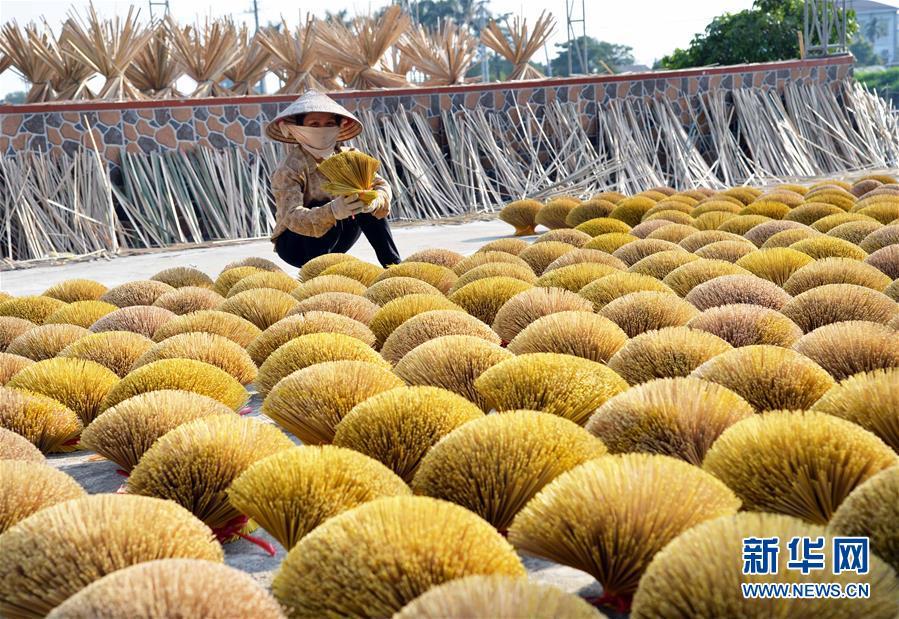 越南河内的特色编制村