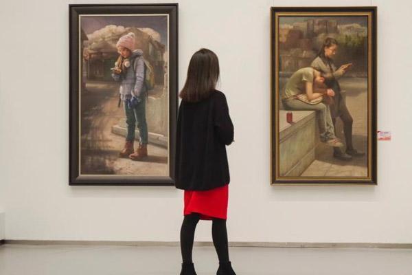 美在京津冀——纪念改革开放40周年美术作品展在京开幕