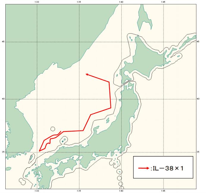 俄军机飞抵日本近海 日战机紧急起飞