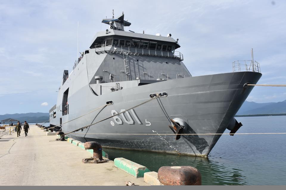 菲海军司令:菲律宾与中国海军会有更多接触