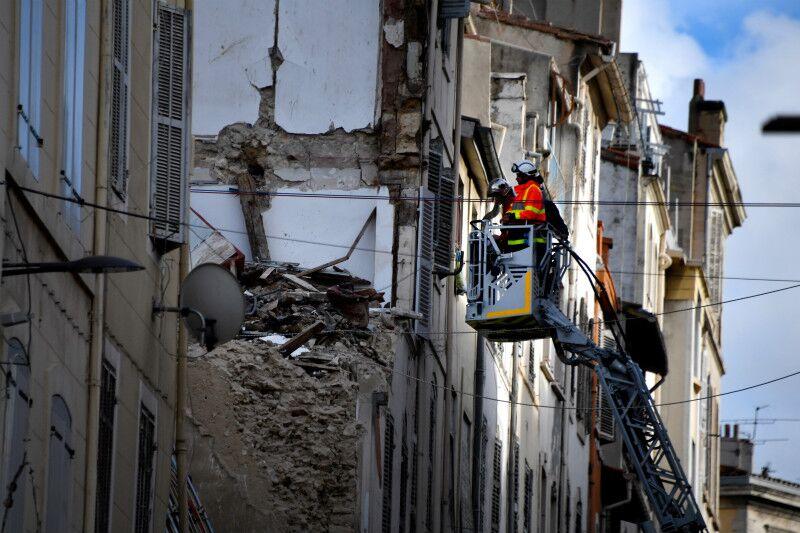 马赛危楼惨案引警示 法国14座城市超百栋房屋存隐患