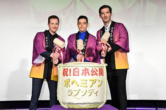 《波西米亚狂想曲》引爆票房 皇后乐队问鼎冠军
