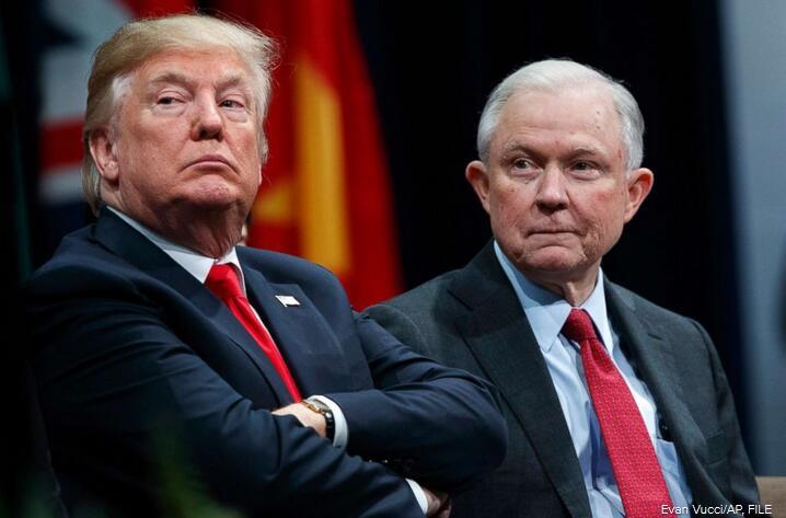 美司法部长应特朗普要求辞职 民主党要求紧急听证