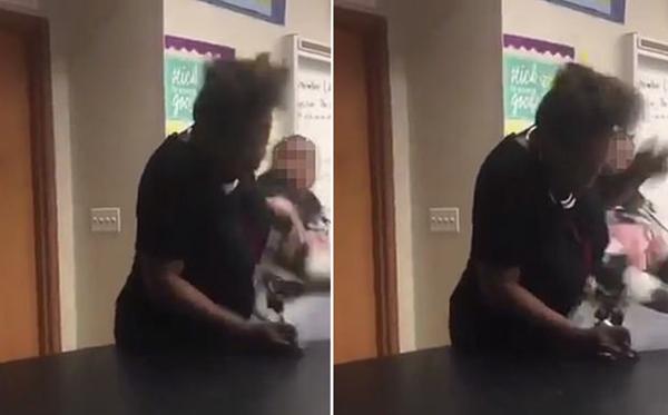 美国一高中生因冲突拳打抗癌老师引热议
