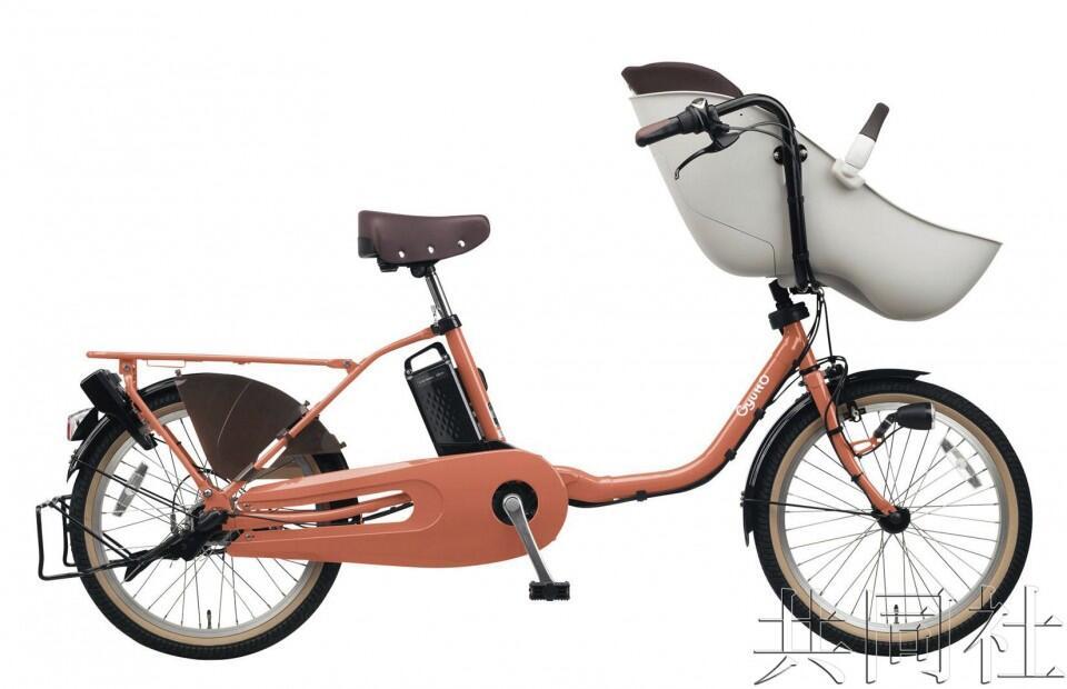 松下联手康贝研发可载儿童电动自行车