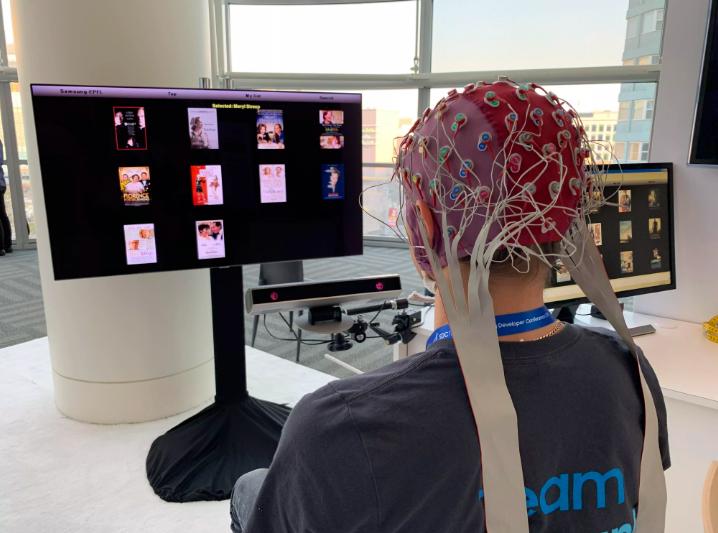 三星为残疾人研发可用脑电波控制电视软件