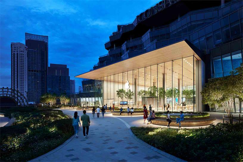苹果首家泰国零售店将于11月10日开业