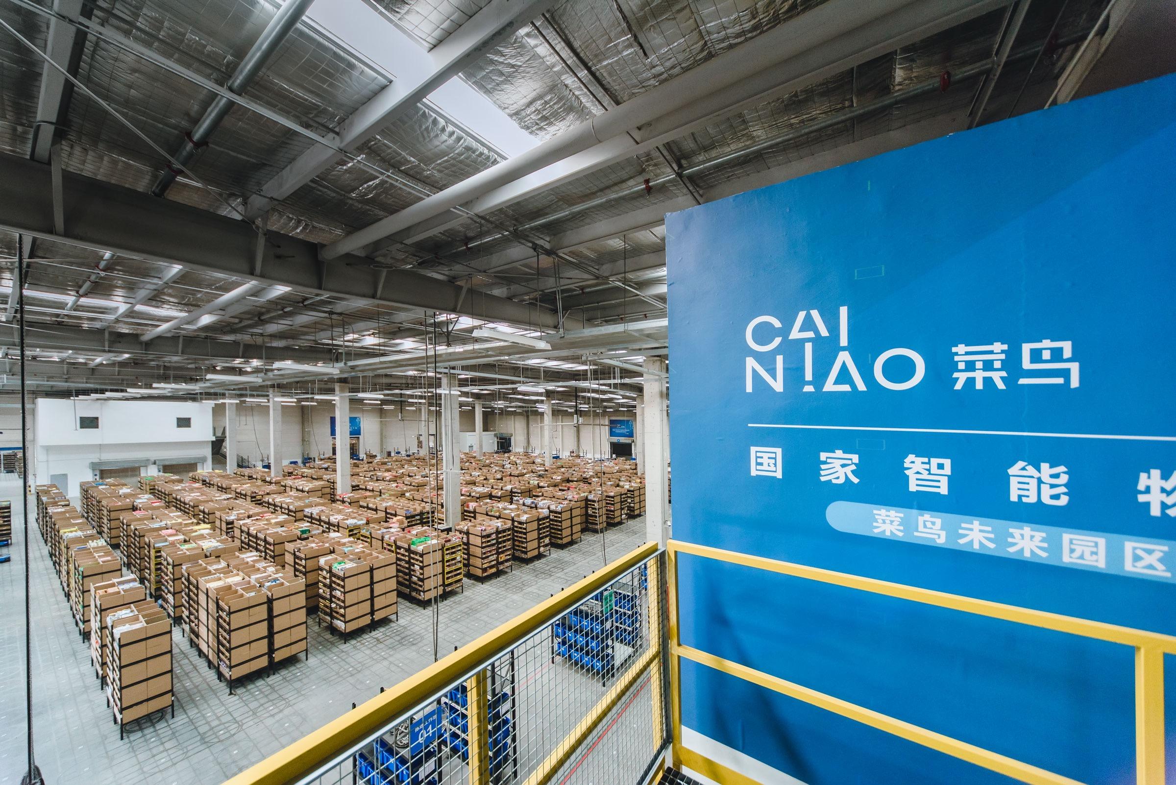 阿里巴巴启动中国最大机器人智能仓库 备战双11