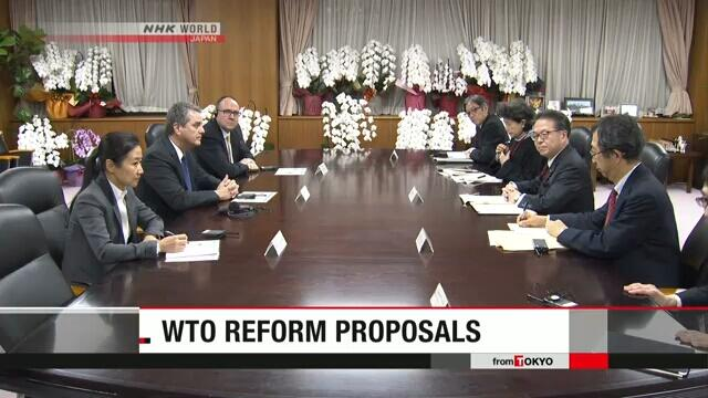 日经产相向WTO总干事说明该组织改革方案
