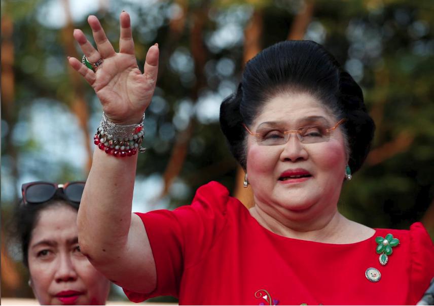 89岁菲律宾前总统夫人被控贪污 面临至少42年监禁