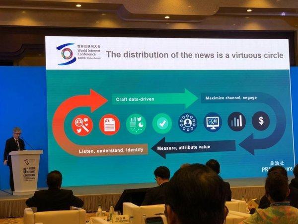 美通社柯佳时:借助人工智能与大数据促进新闻发布模式的良性循环