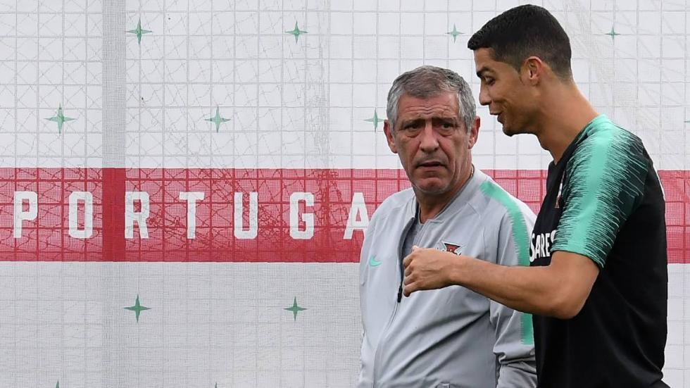 葡萄牙大名单C罗继续缺席 主帅:他不拿金球不公平