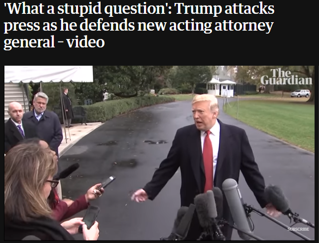 特朗普指责CNN女记者:我看到你好多次了,你问了好多蠢问题!
