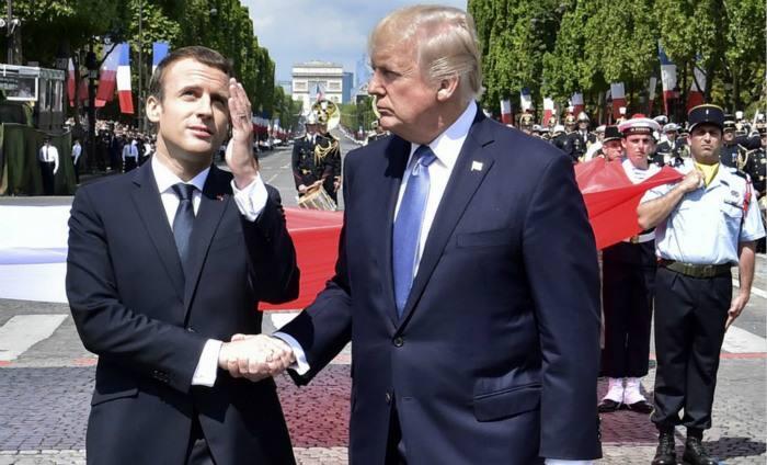 """声称要打造真正""""欧洲军队""""的法国又怂了?"""