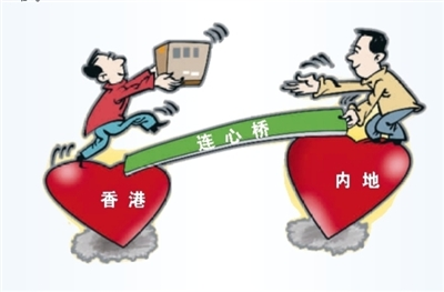 """这座""""无止桥""""为内地与香港同心筑起""""心桥"""""""