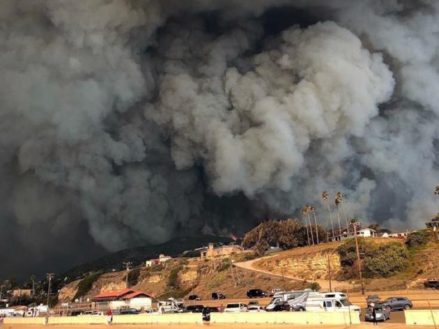 加州大火 LadyGaga千万豪宅或遭殃