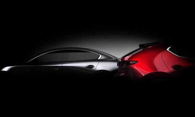 新一代马自达3搭载Skyactiv-X引擎 将亮相洛杉矶车展