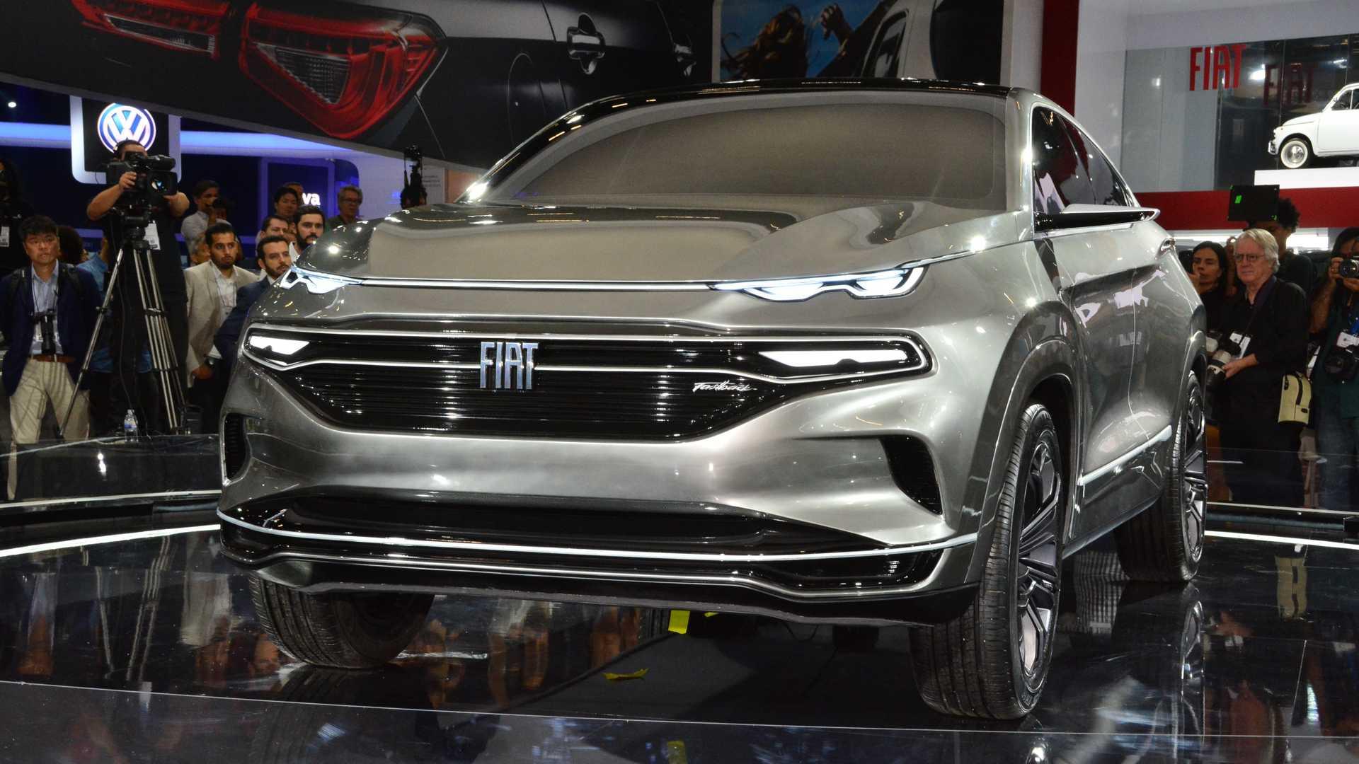 菲亚特Fastback概念车亮相巴西 时尚轿跑风格SUV
