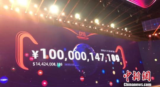 北京赛车公式软件:天猫双11纪录一再刷新:1小时47分完成1000亿交易额