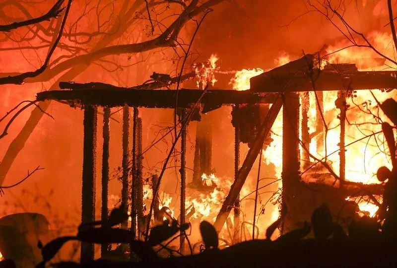 山火再肆虐已致23人死亡  加州为什么多山火?