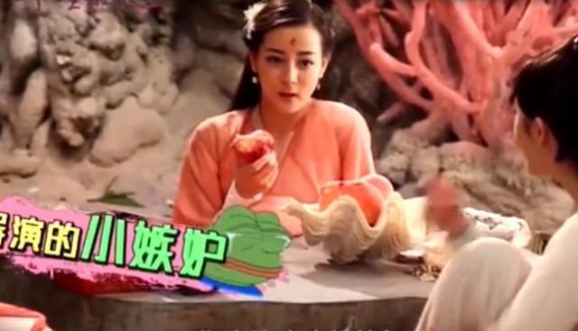 迪丽热巴险吃光道具,导演求救杨幂,杨幂:她吃饱就不吃了!