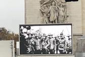纪念一战结束100周年仪式在巴黎凯旋门举行