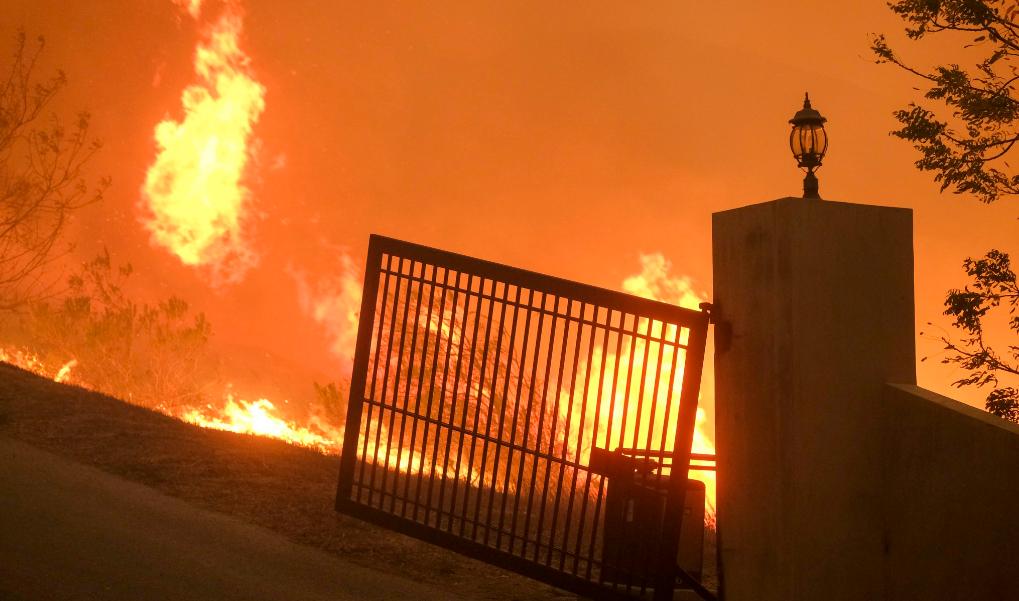 美加州山火失踪人数上升至228人,已有31人确认死亡