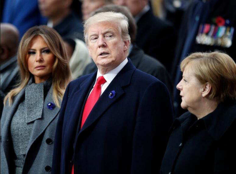 特朗普想在巴黎看纪念一战结束的盛大阅兵? CNN:他失望了