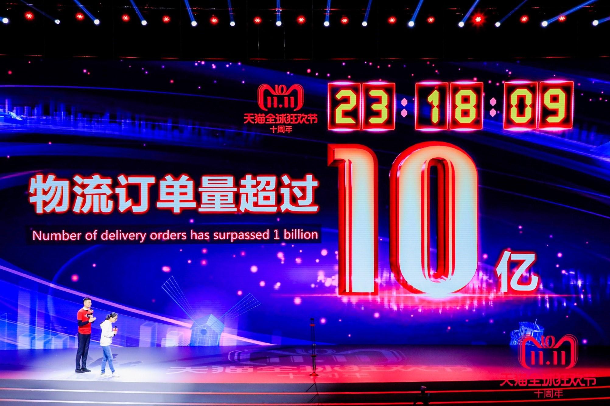 """亿万""""剁手党""""一天买10亿包裹 见证中国强大商业活力"""