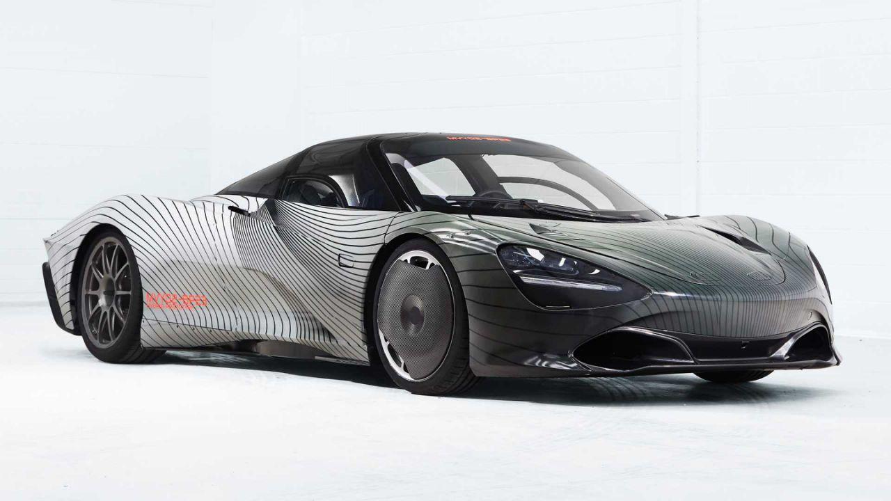 迈凯伦旗舰Speedtail原型车命名Albert 将开启路试