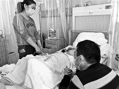 地震失独母亲养女患重症 病童亲哥千里捐骨髓