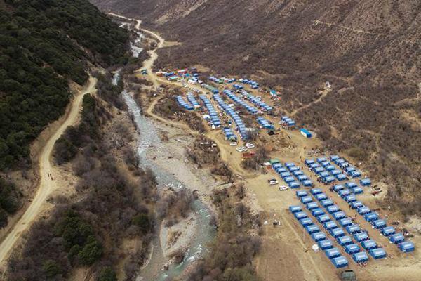 生活物资供应充足 群众安全有保障——西藏金沙江堰塞湖安