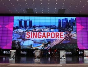 探访新加坡新达城国际会议展览中心