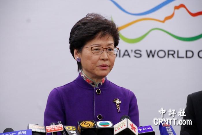 """林郑月娥回应""""外国记者被拒绝入境"""":希望遵从香港法规"""