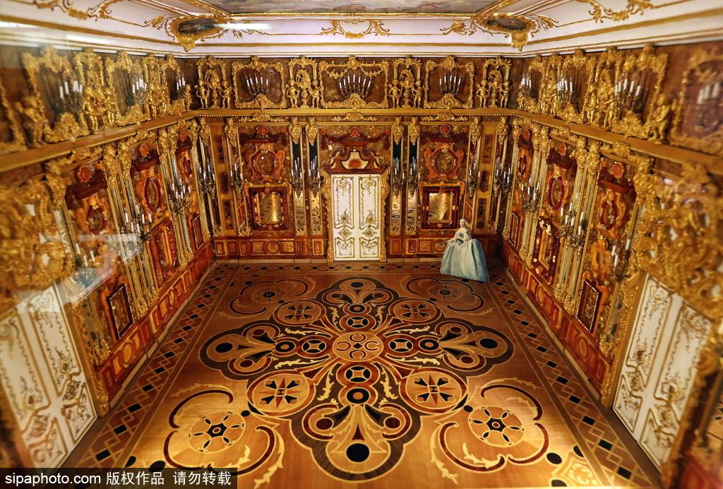 俄罗斯圣彼得堡:琥珀博物馆微缩模型十分精巧传神