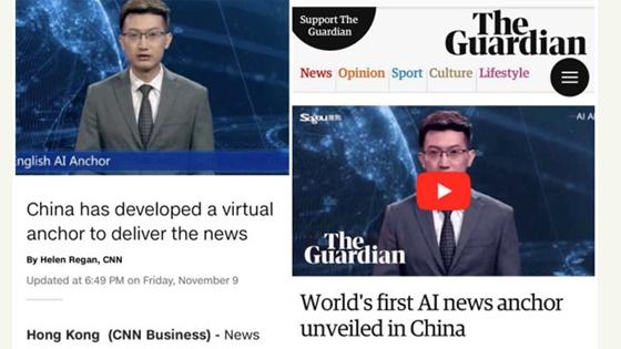 """外媒:中国的这个""""主播""""引起了全球关注"""