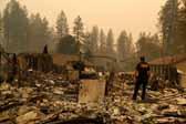 加州山火已致44死 豪宅成废墟恍如世界末日