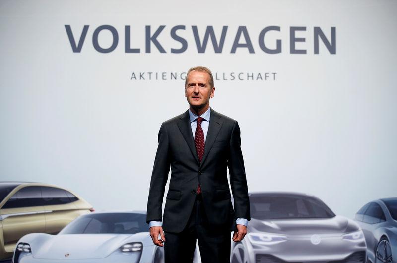 迪斯:大众2020年全球电动汽车产量将达5000万