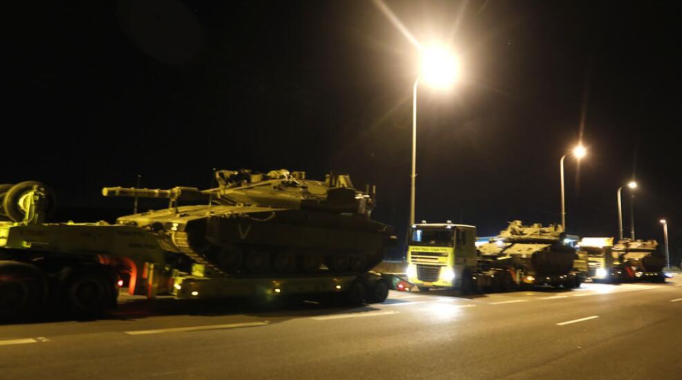 巴以局势持续升级 以色列向加沙边境派遣坦克