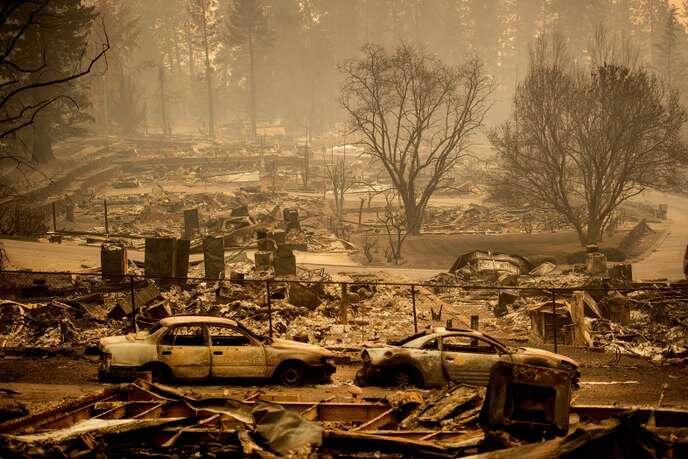 美加州森林大火已致42人亡 酿该州最惨重纪录