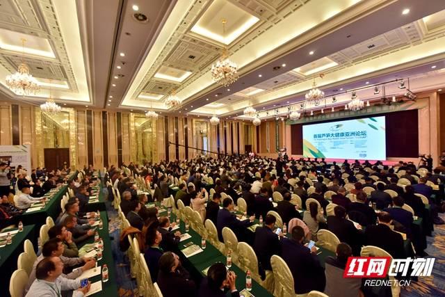 首届芦笋大健康亚洲论坛在张家界市举行