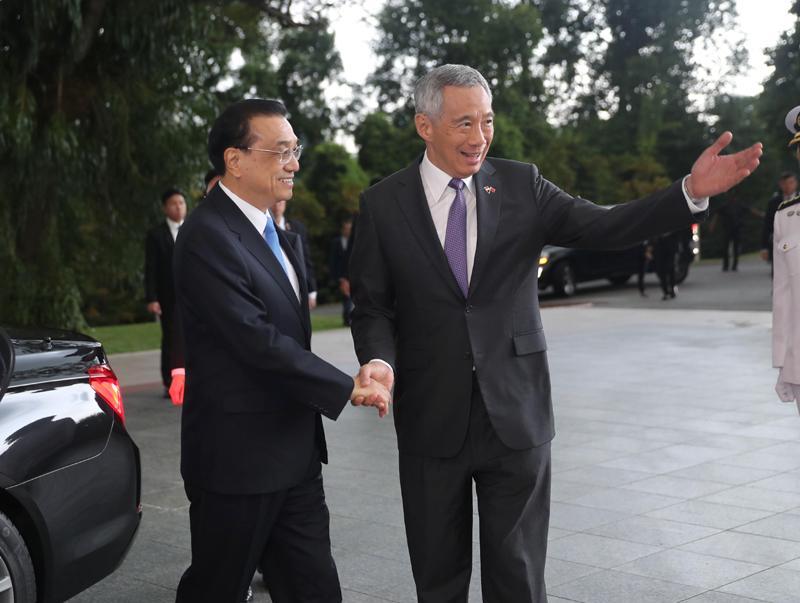 李克强与新加坡总理谈了哪些务实合作?4段对话告诉你