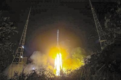 """距离""""关门""""不到4小时 北斗卫星成功传回信号"""