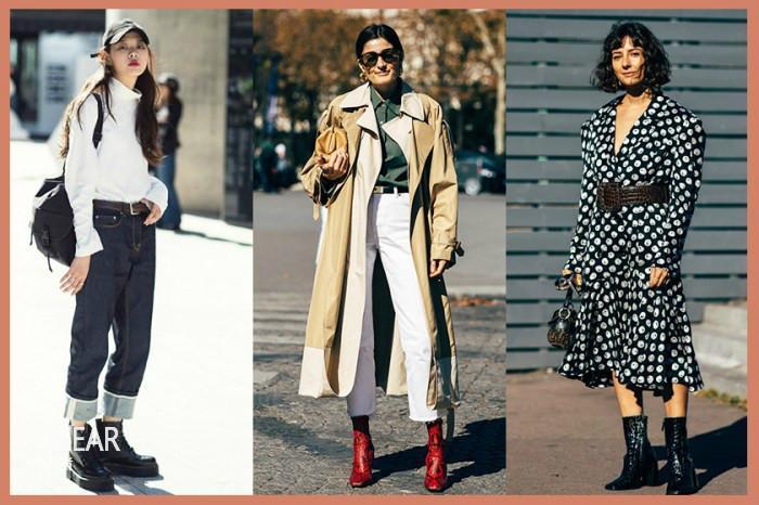 最强秋冬造型灵感集! 50+短靴街拍造型, 让你度过时尚秋冬!