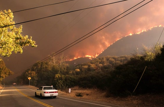 美加州山火已致42死 成美国历史上最致命大火