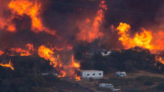 美媒:美南加州6名中国留学生撤离火灾区