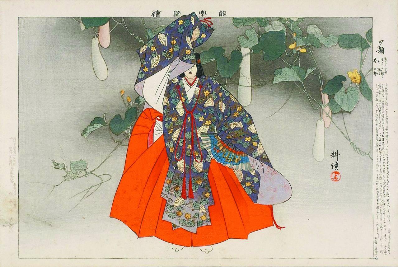 夕颜,活在日本文学中的花